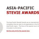 stevie asia pacific awards